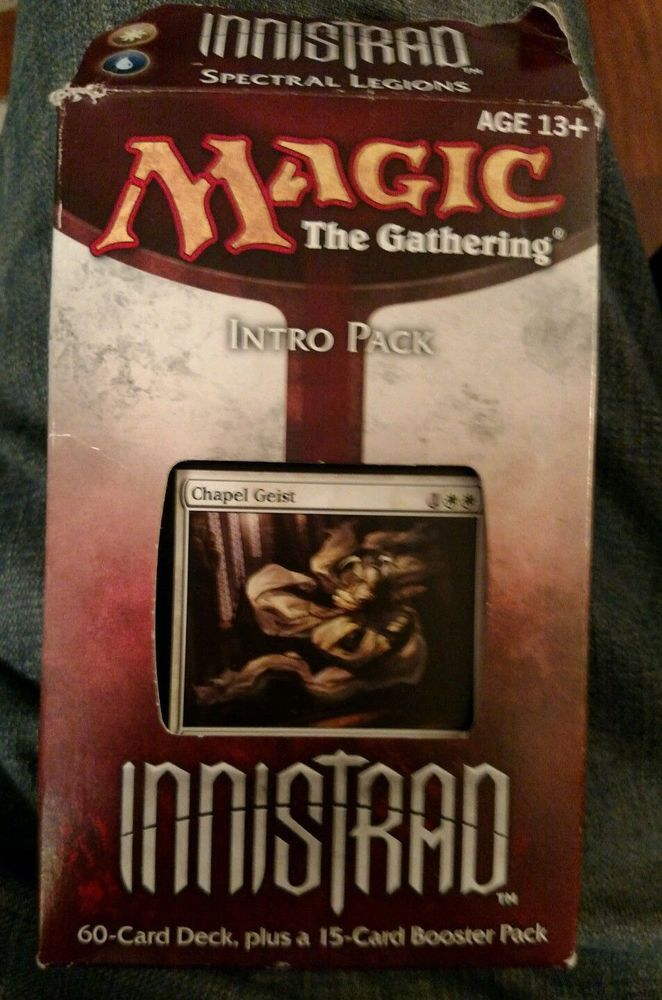 Innistrad Intro Pack: Spectral Legions + Booster Pack New Sealed - MTG #WizardsoftheCoast