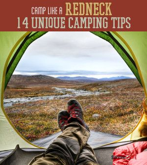 Camp Like a Redneck | 14 camping hacks that would be great for everyone to know! #survivallife www.survivallife.com
