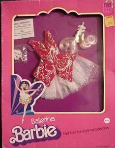 Ballerina Barbie #9329 Aurora Princess 1976