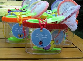 Bug party favors