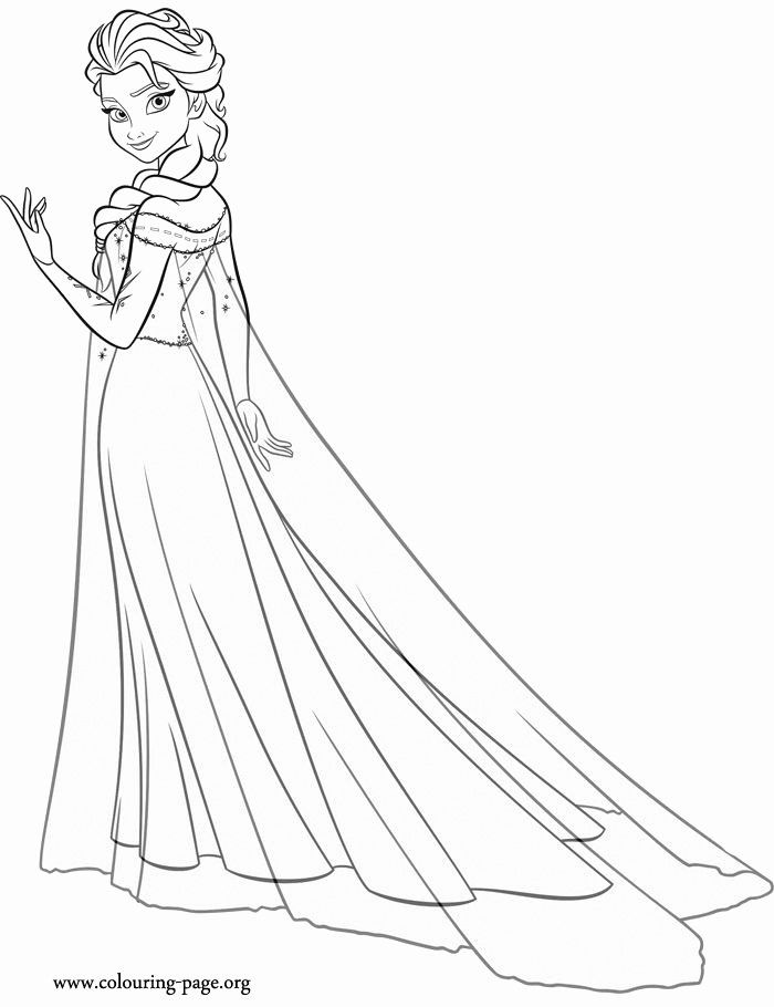 32 Princess Elsa Coloring Page Princess Coloring Pages Elsa