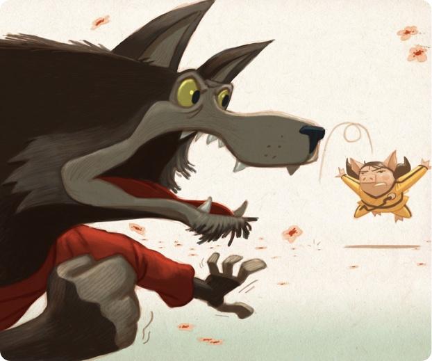 DAN SANTAT author / illustrator of Zoobean featured books, The Three Ninja Pigs and Fire! Fuego! Brave Bomberos!