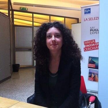Simona durante le selezioni degli 8 testimonial di #MyPugliaExperience.