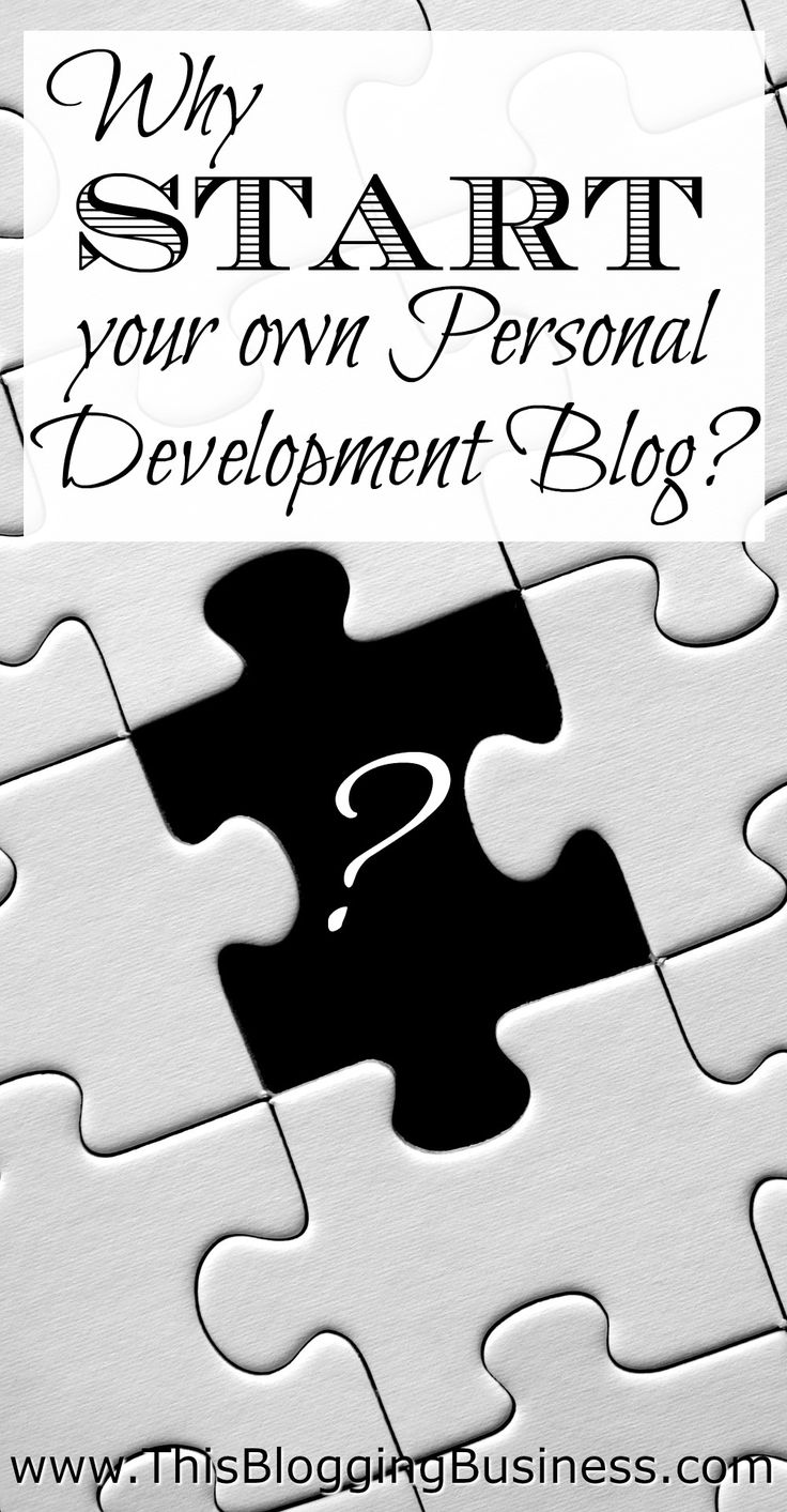 Why start your own personal development blog? Because you're got so much to share about your own journey is personal development / self-help / being-the-best-you! None of us are perfect. Not even Tony Robbins! But we all have something to share with each other; the struggles, the victories, the confusion and the light bulb moments. As you share your journey through personal development on a blog, you not only help others... you help yourself by ordering your thoughts and providing...