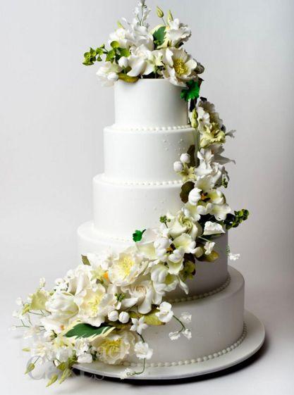 A beautiful Ron Ben Israel wedding cake | Ron Ben Israel ...