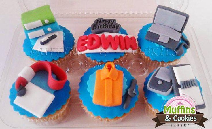 Happy Birthday Muffins / Cupcakes