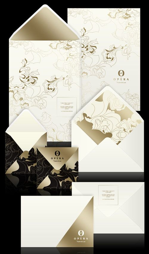 """Inspired by luxury brand logos, the old logo is replaced with a slick elegant """"O"""" symbol and a classy new handcrafted typeface for the wordmark. The opulent and colourful visual language is made from a variety of rich fabric textures placed together in classical yet modern floral pattern. The mother brand remains gold, ivory, white and black emphasizing the Luxury element in the brand."""