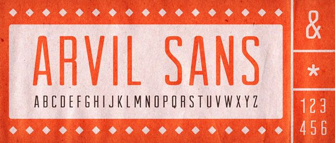 Arvil ( Free Fonts for Designers - Download Now )