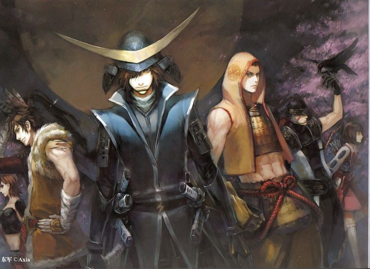 Sengoku Basara  - (Date Masamune,Tokugawa Ieyasu,Tsuruhime,Saika Magoichi,Fuma Kotaro, Maeda Keiji)