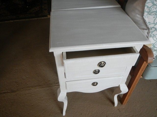 bed007 French Style bedside pedestals sold as a pair R3600 for the pair