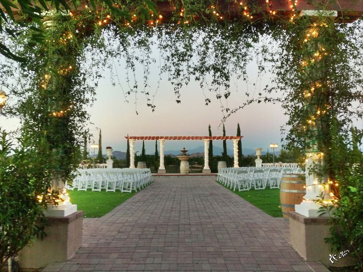 Ceremony Reception Venues: Mount Palomar Winery Wedding Ceremony Venue