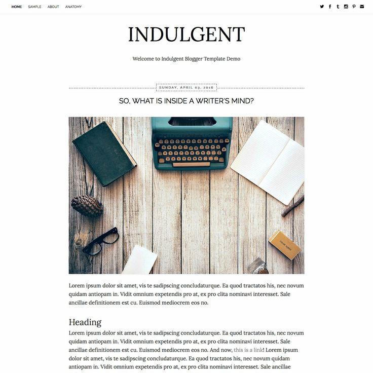 11 best Blogger Templates images on Pinterest