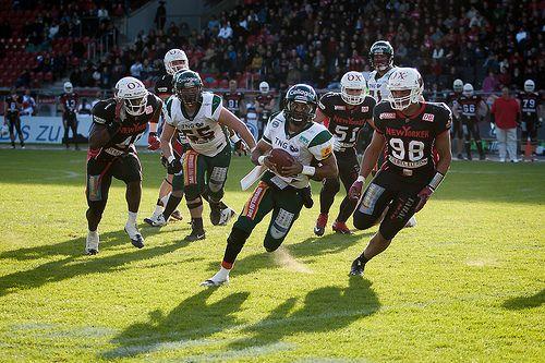 American Football - New Yorker Lions Braunschweig - Kiel Baltic Hurricanes