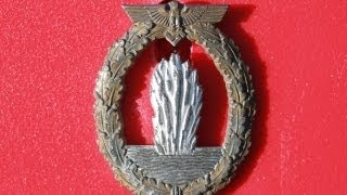 WW2 German Mine Sweeper Badge