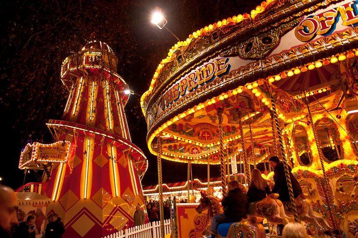 Los mercadillos de Navidad de Londres: Winter Wonderland in Hyde Park
