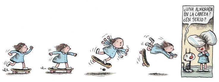 Liniers. Enriqueta. Skate 4 de 4