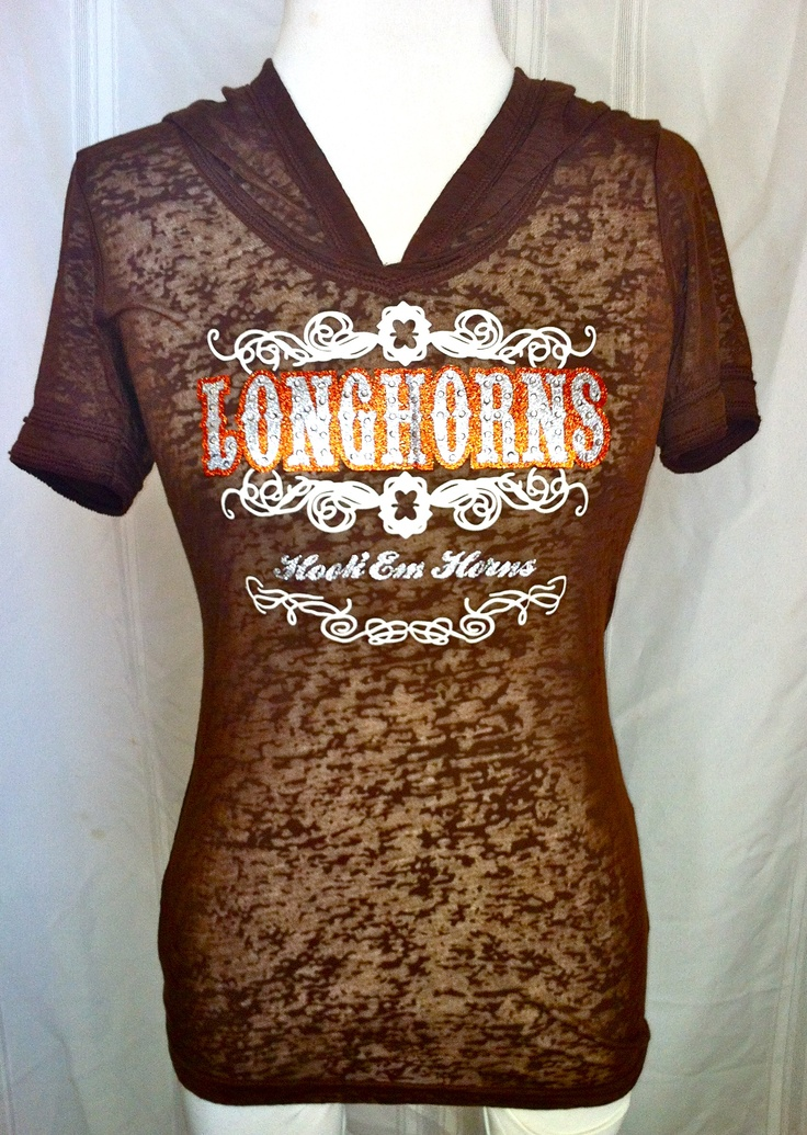 Exclusively designed women's shirt from http://high5collegeclub.com only $25    #UT #Longhorns #shirt #lovethis