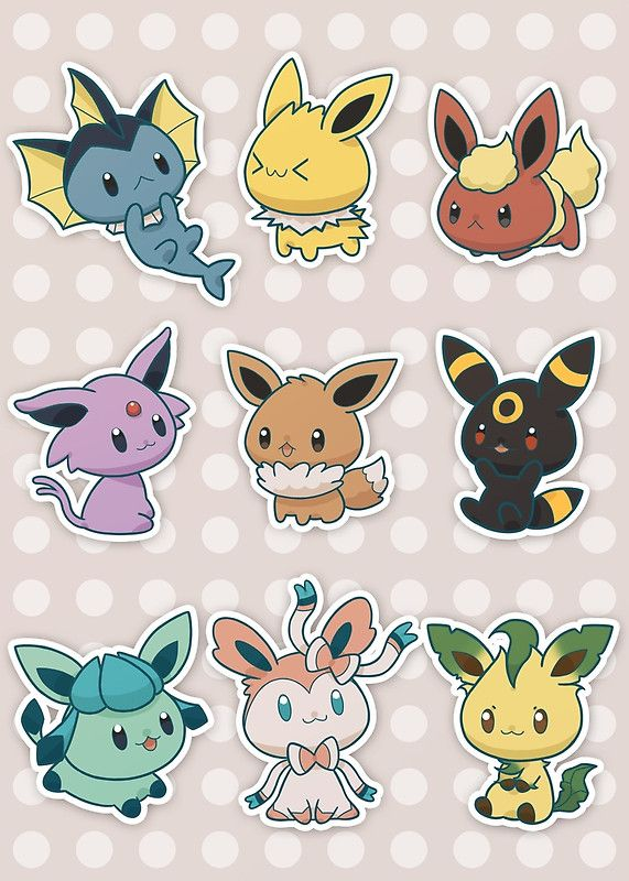 67 best EEVEE EVOLUTION images on Pinterest | Eevee ...