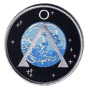 "Stargate Project Earth Symbol 3.5"" Patch"