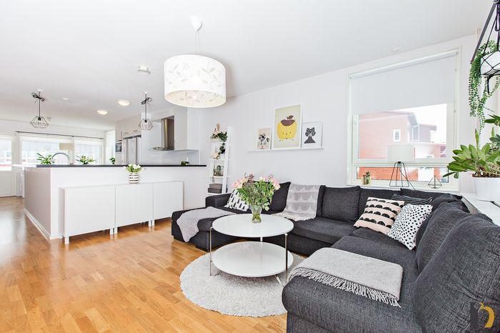 Bilder från vår lägenhet inför försäljning!