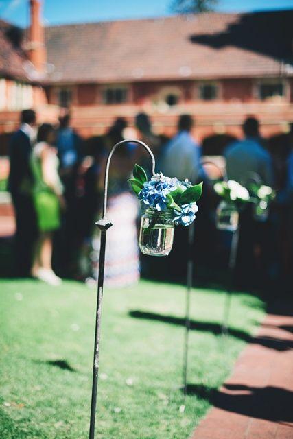Beautiful hanging hydrangea