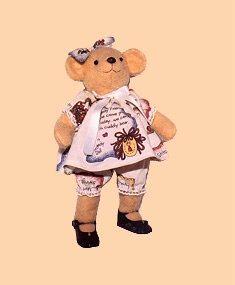 Miniature Bear PDF PATTERN: Sweet Mini Bear