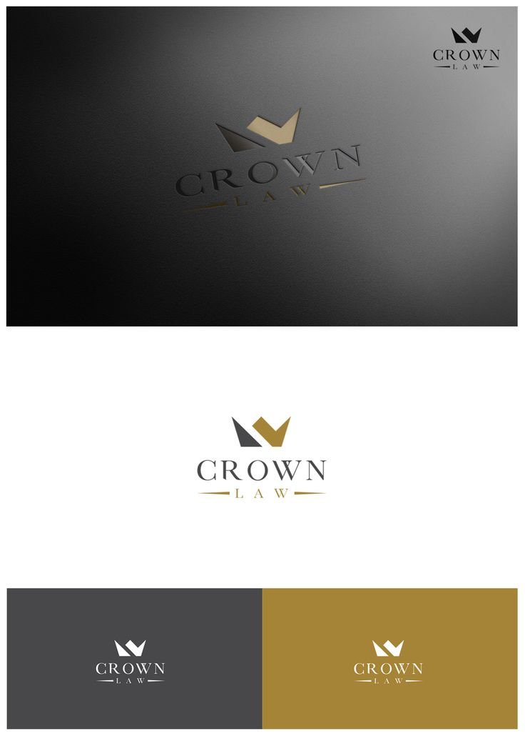 Logo Design by goranvisnjic82 for Corporate Lawyer, Crown Law #lawyer #attorney #logo #design #DesignCrowd #legal