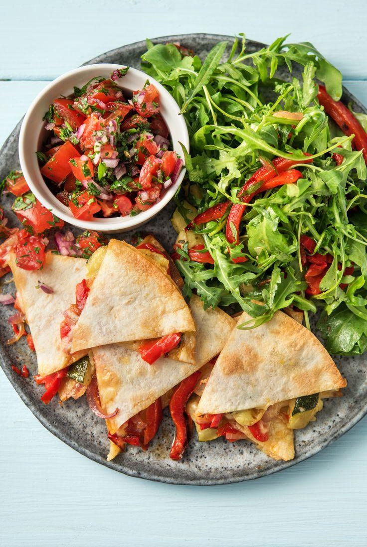 Blue apron quesadilla spice blend - Garden Quesadillas With Pico De Gallo And Chipotle Mayo Chipotle Mayospice Blendsquesadillasmexican