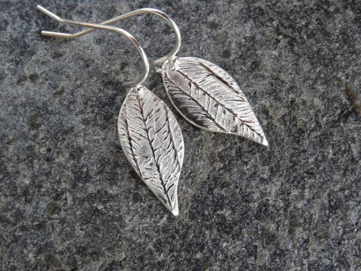 Leaf drop earrings  silver  minimalist earring  girlfriend sister office Christmas Stocking birthday gift Leaf drop earrings jewellery for her one of a kind woman's gift Garden lover Christmas stocking dangle and drop silver drop earrings woodland jewellery holiday gift guide ship to recipient girlfriend gift unique present 13.50 GBP #goriani