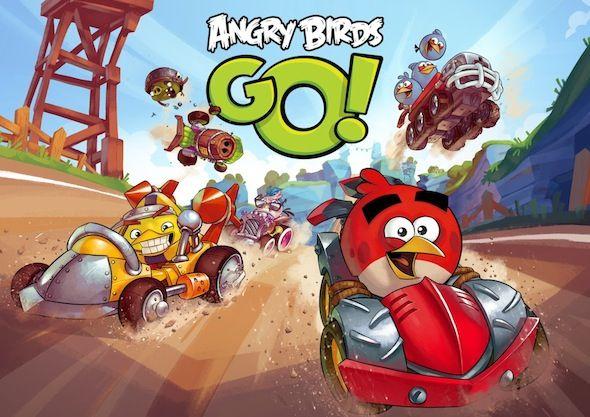 Angry Birds Go!, el Juego de Carreras de Karts de Rovio, Ya Disponible