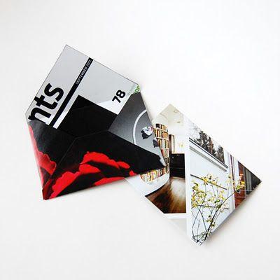The Craftinomicon: DIY Magazine Envelopes