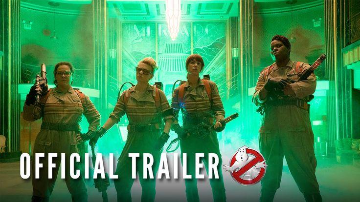 GHOSTBUSTERS (2016) ~ Kate McKinnon, Melissa McCarthy, Leslie Jones, Kristin Wiig. Ghostbusters reboot official trailer [Video]