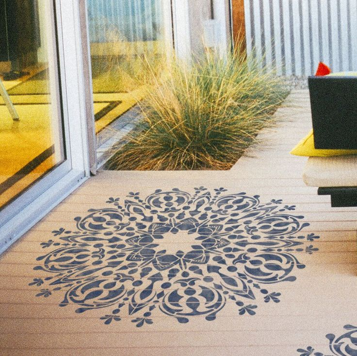 Amazing Mandala- Style Stencil For Decoration - Original Stencil For Painting