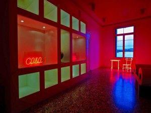 _Manuela Bedeschi_Rossarancio_ veduta della mostra_2012  http://www.ondetour.net/vicenza-al-palazzo-festa-marzotto-rosso-arancio-dal-30-novembre-al-25-gennaio/