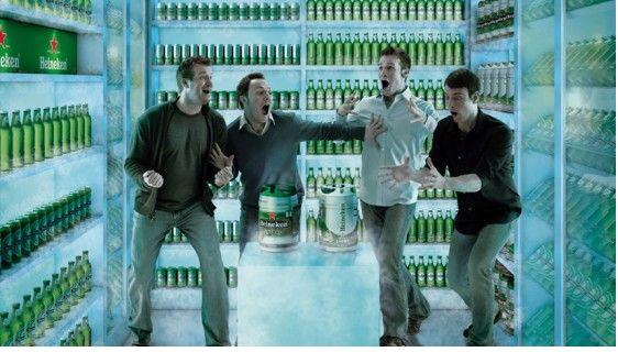 Heineken - Walk in fridge