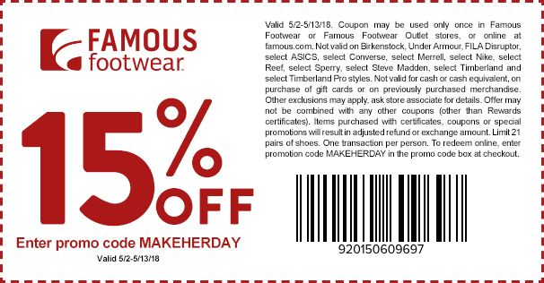 Pin By Arkom Singchalad On ของด น าซ อ Coupons Famous Footwear Printable Coupons