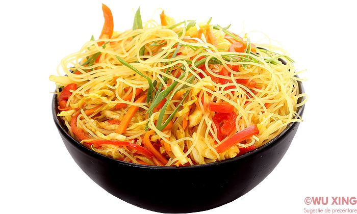 Spaghete de orez călite