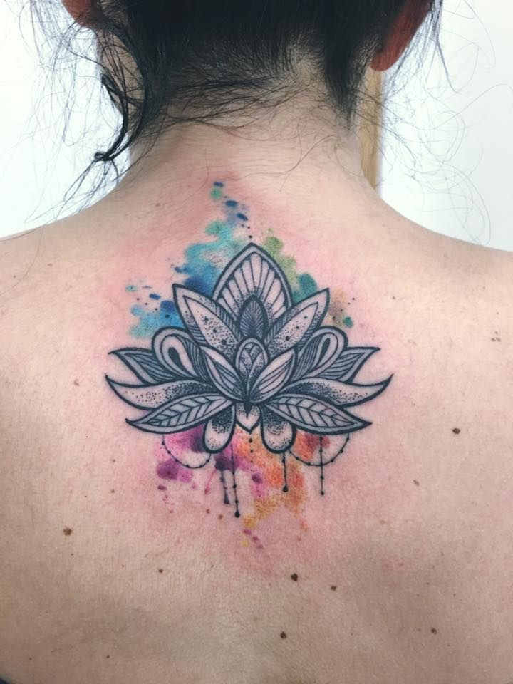 Flor de loto :) For great tattoos don't forget to visit: www.inkspirationworld.com & www.facebook.com/SoulfulTattoo