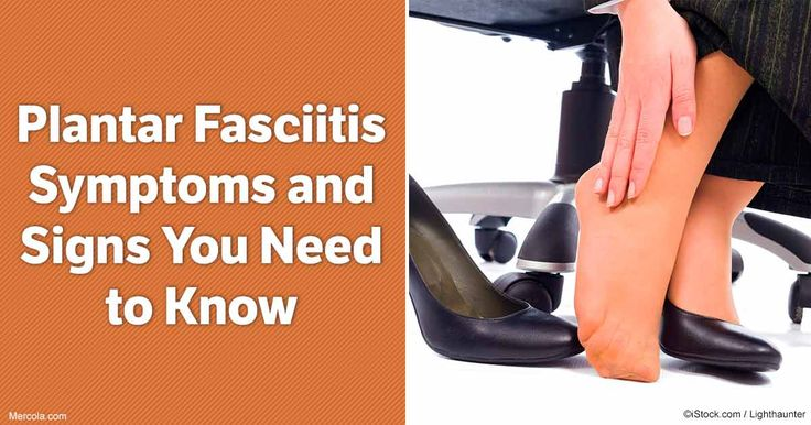 Know the signs and symptoms of plantar fasciitis and what are the areas can possibly be affected. http://articles.mercola.com/plantar-fasciitis/signs-symptoms.aspx