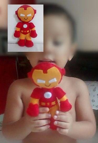 Bonequinho Do Homem De Ferro Lembrancinha - R$ 5,50 no MercadoLivre
