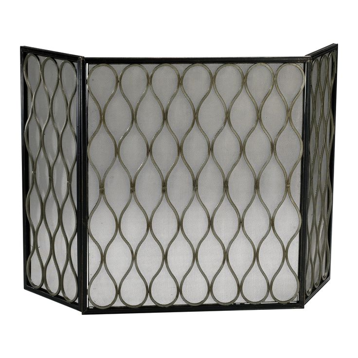 contemporary fireplace screens