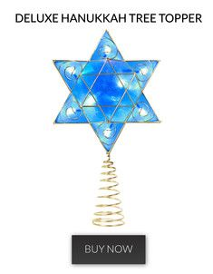 The deluxe #hanukkah tree topper! #chrismukkah