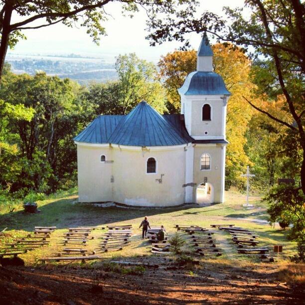 church in Povazsky Inovec