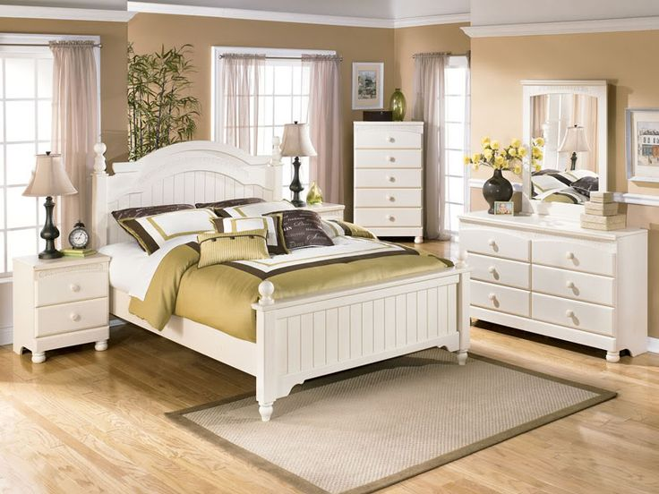 14 Cool White Queen Bedroom Furniture Set Design Ideas