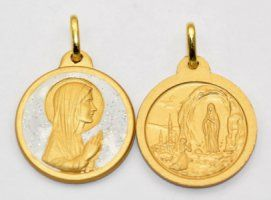 Our Lady of Lourdes Medal.
