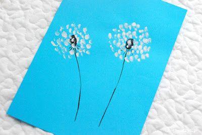 Fajny sposób na stworzenie wiosennych dmuchawców (i to bez użycia pędzla!) ;)   #dmuchawiec #kwiat #kwiatek #kwiaty #obraz #obrazek #malować #malowanie #farby #palce #malowaniepalcami #dandelion #flower #flowers #picture #painting #paints #paint #finger #fingerspainting #diy #zróbtosam #handmade #tutorial #poradnik #jakzrobić #howto #craft #crafts  #kidscrafts #sposóbwykonania #instrukcja #instruction #wiosna #spring