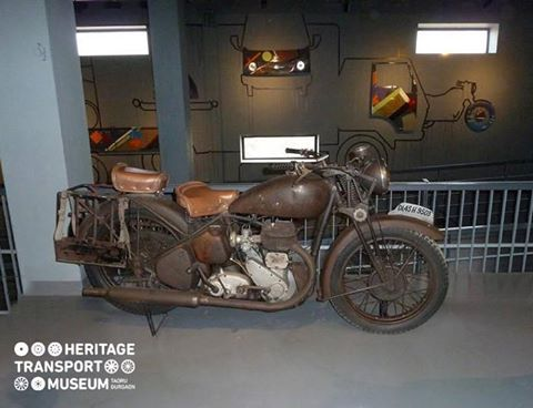 Take a look at the BSA vintage bike of the 1940s!