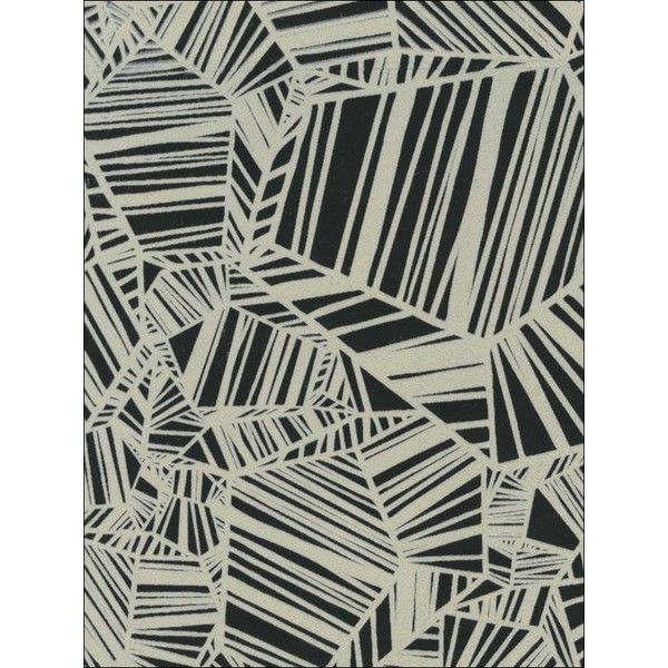 Sample Pyrite Velvet Flocked Wallpaper in Ebony and White from the... (€8,42) ❤ liked on Polyvore featuring home, home decor, wallpaper, wallpaper samples, black velvet wallpaper, white flock wallpaper, black home decor, black wallpaper and black white home decor