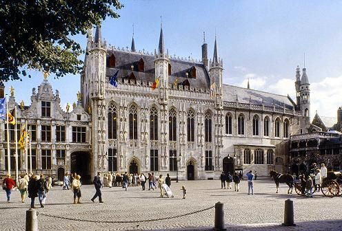 Bruges City Hall -Brugge, Belgium