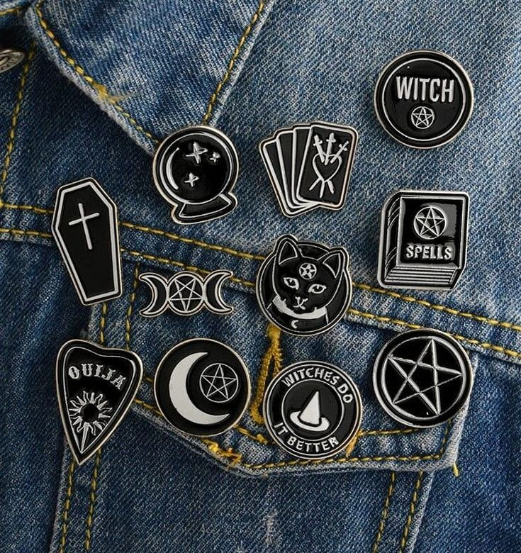 Wicca Enamel Pins – #wicca #pins #witch #nugoth